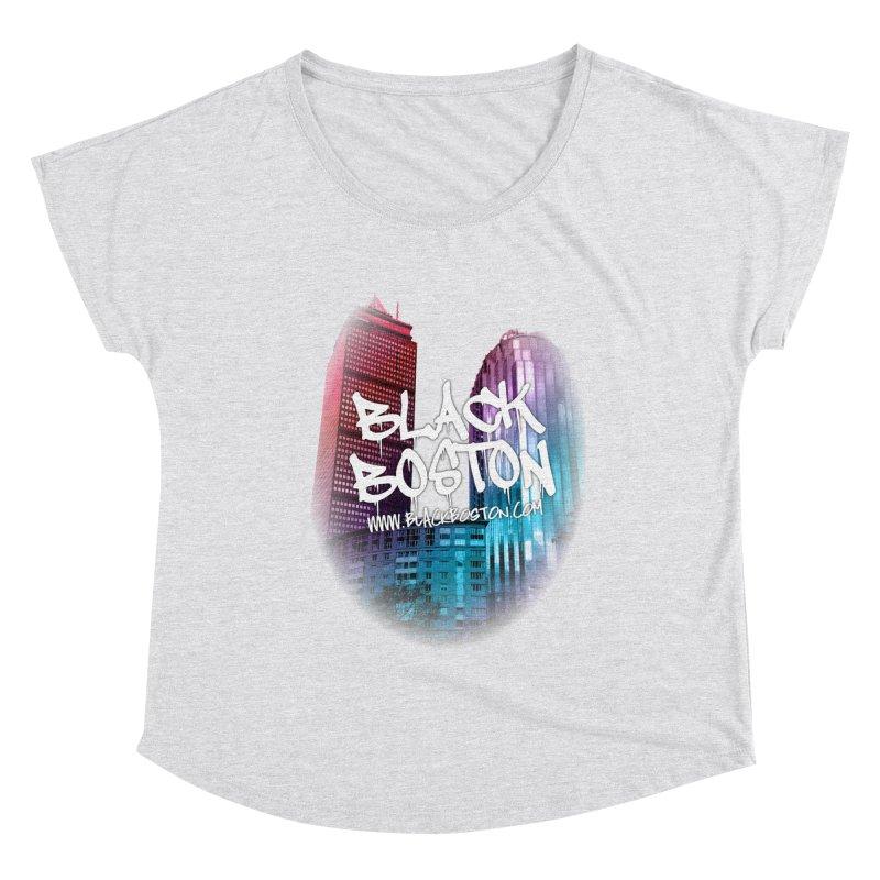 Black Boston souvenir I You style Women's Scoop Neck by Boston Black Heritage Classic  souvenir t-shirts a