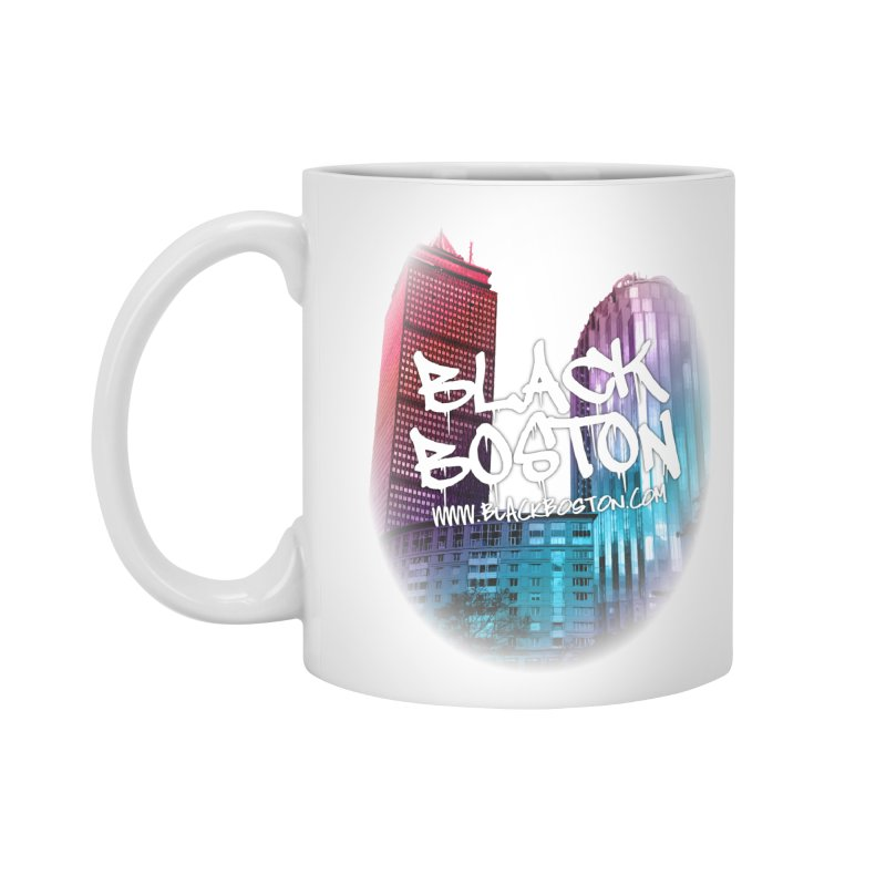 Black Boston Classic U Purple Accessories Mug by Shop.BlackBoston.com