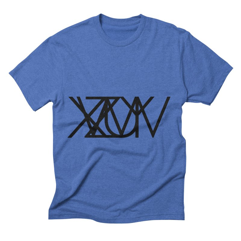 Tribute To Axis & Planes Men's T-Shirt by Black Text On Tee