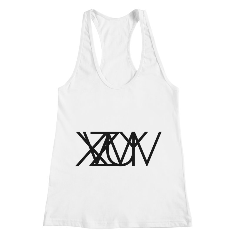 Tribute To Axis & Planes Women's Tank by Black Text On Tee