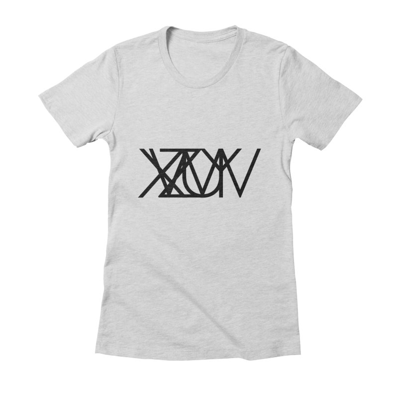 Tribute To Axis & Planes Women's T-Shirt by Black Text On Tee
