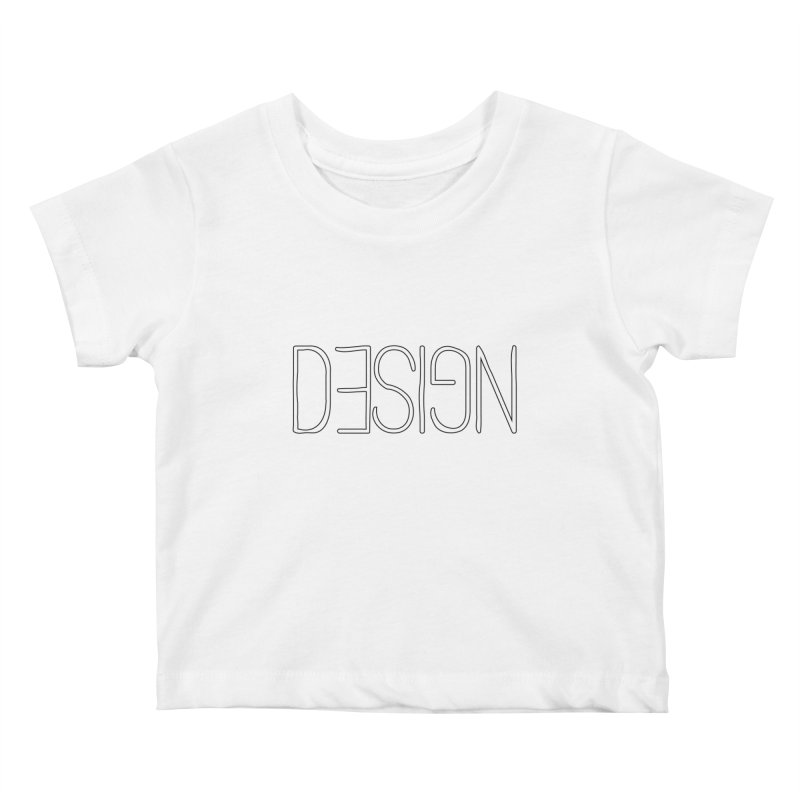 Dull (Design) Kids Baby T-Shirt by Black Text On Tee
