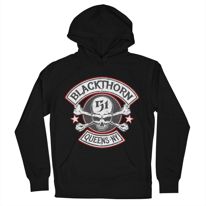 Blackthorn 51 T shirts Men's French Terry Pullover Hoody by blackthorn51 Apparel