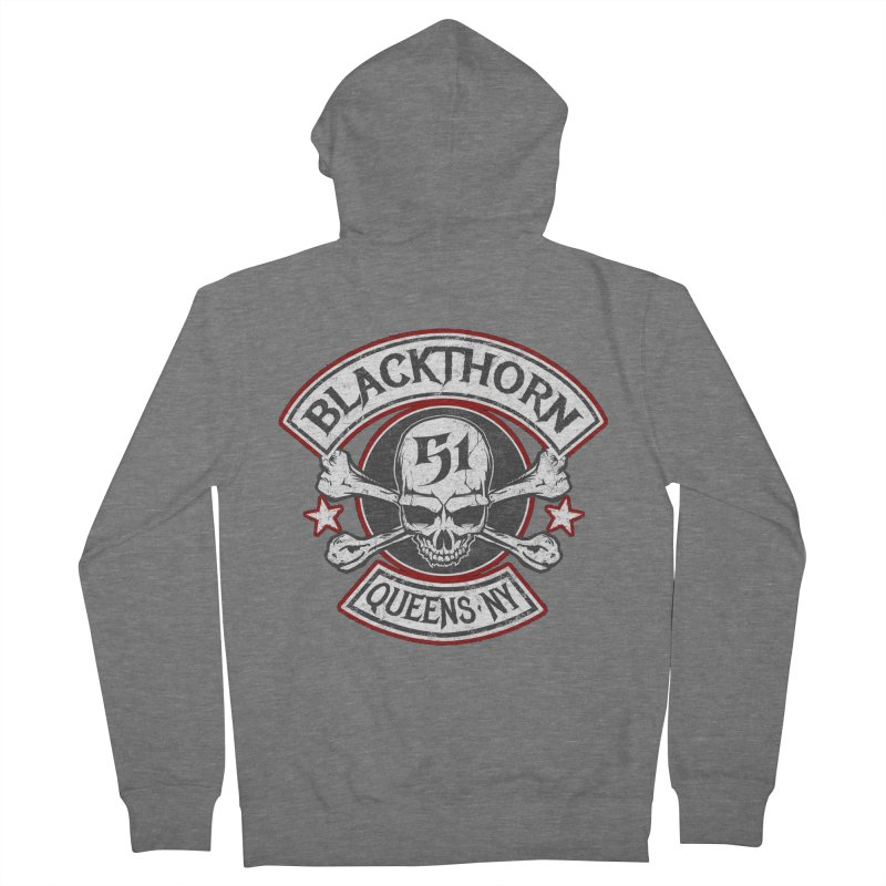 Blackthorn 51 T shirts Women's French Terry Zip-Up Hoody by blackthorn51 Apparel