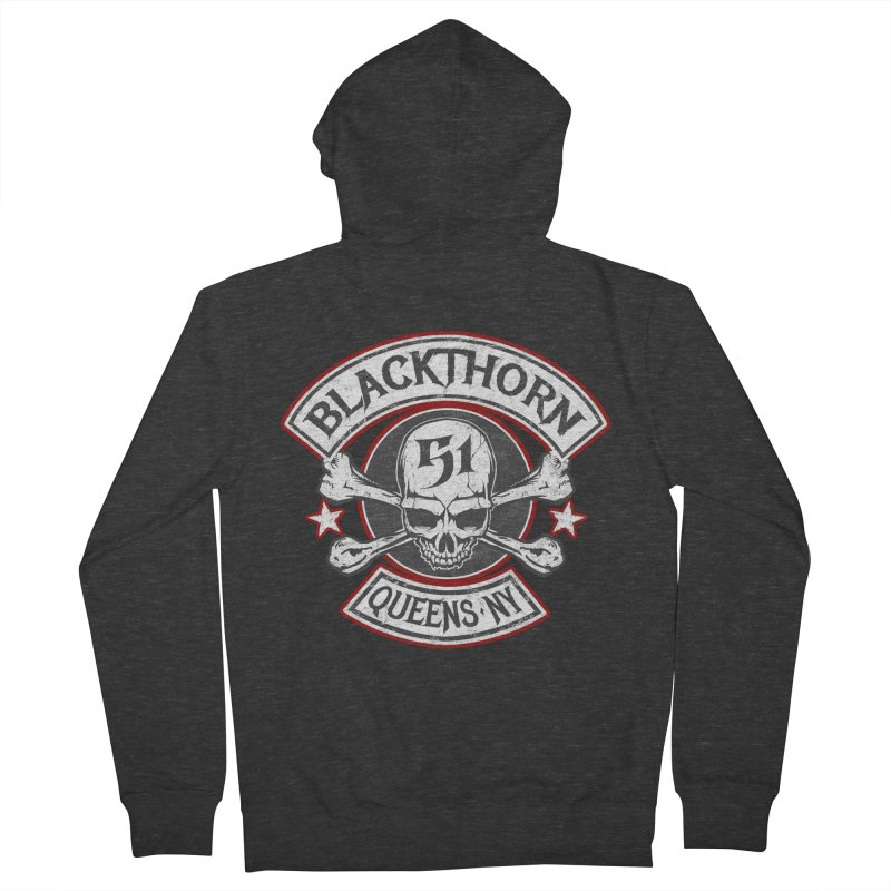 Blackthorn 51 T shirts Men's French Terry Zip-Up Hoody by blackthorn51 Apparel