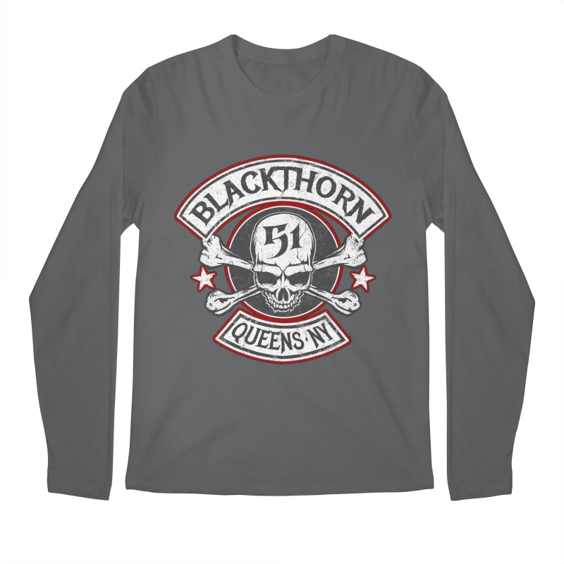 Blackthorn 51 T shirts Men's Regular Longsleeve T-Shirt by blackthorn51 Apparel