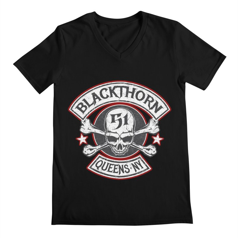 Blackthorn 51 T shirts Men's Regular V-Neck by blackthorn51 Apparel