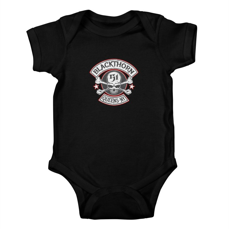 Blackthorn 51 T shirts Kids Baby Bodysuit by blackthorn51 Apparel