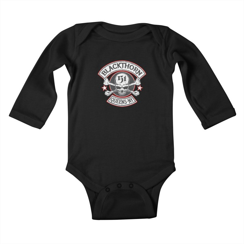 Blackthorn 51 T shirts Kids Baby Longsleeve Bodysuit by blackthorn51 Apparel