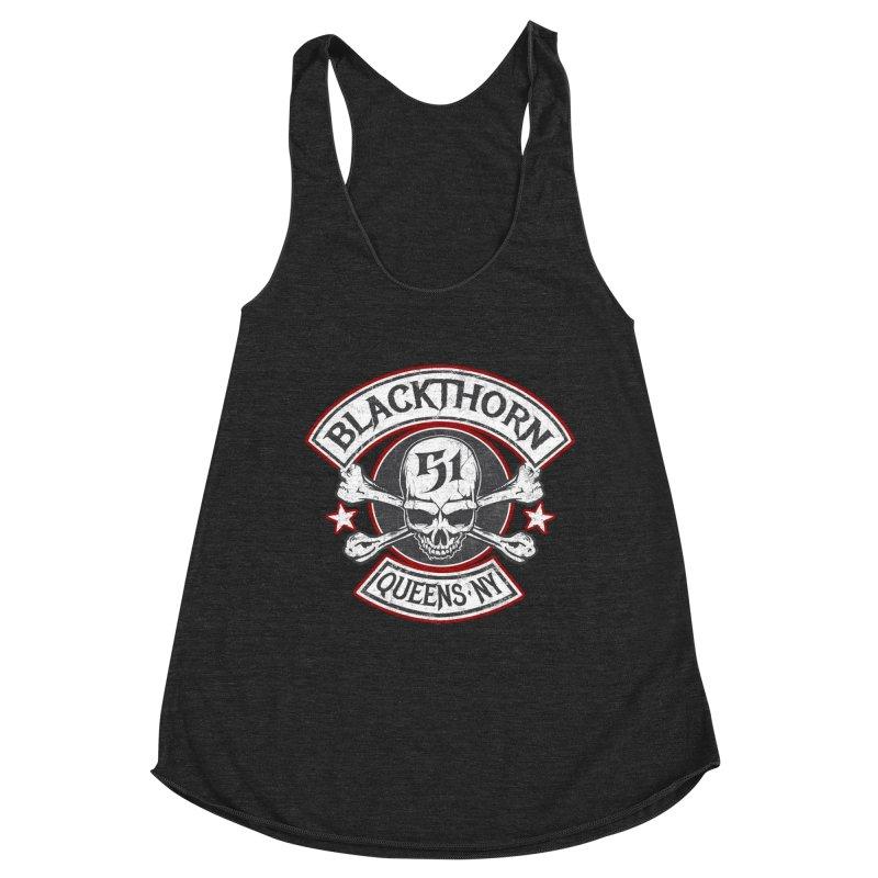 Blackthorn 51 T shirts Women's Racerback Triblend Tank by blackthorn51 Apparel