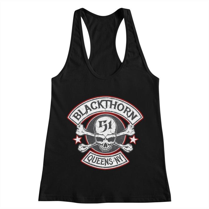 Blackthorn 51 T shirts Women's Racerback Tank by blackthorn51 Apparel