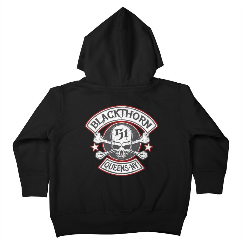 Blackthorn 51 T shirts Kids Toddler Zip-Up Hoody by blackthorn51 Apparel