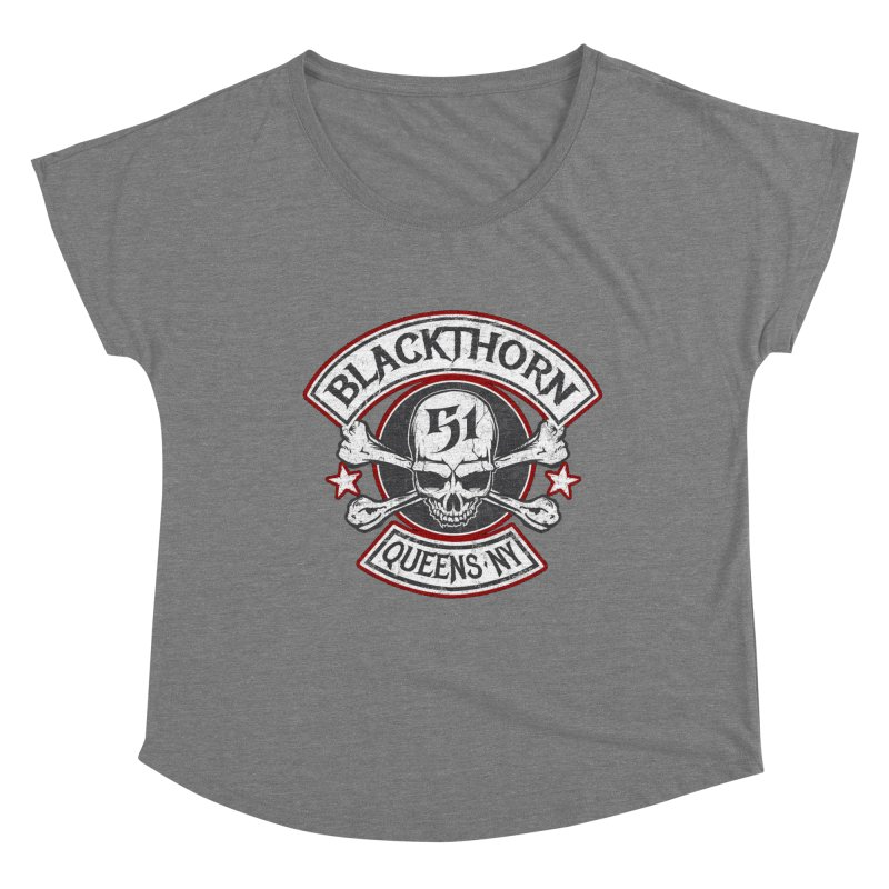 Blackthorn 51 T shirts Women's Dolman Scoop Neck by blackthorn51 Apparel