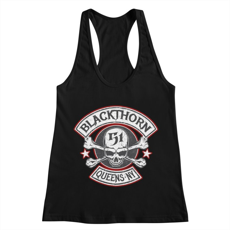 Blackthorn 51 T shirts Women's Racerback Tank by blackthorn51 Apparel