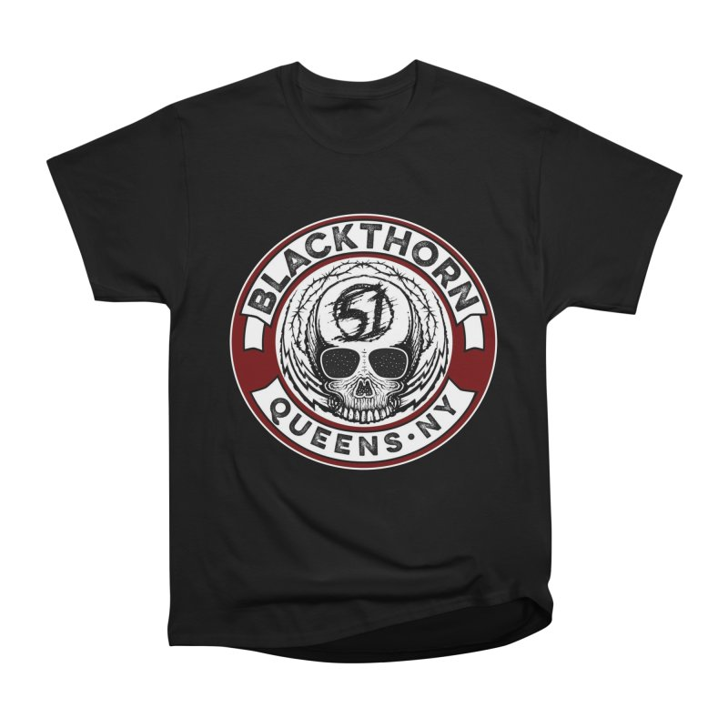 Blackthorn Barbwire Men's Heavyweight T-Shirt by blackthorn51 Apparel