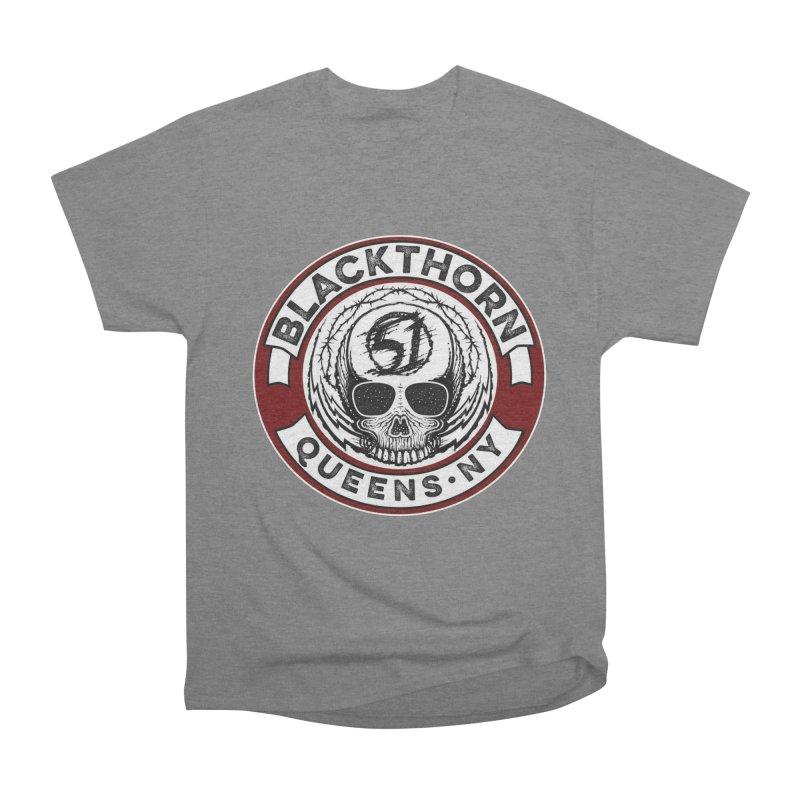 Blackthorn Barbwire Men's Heavyweight T-Shirt by blackthorn51 Apparel