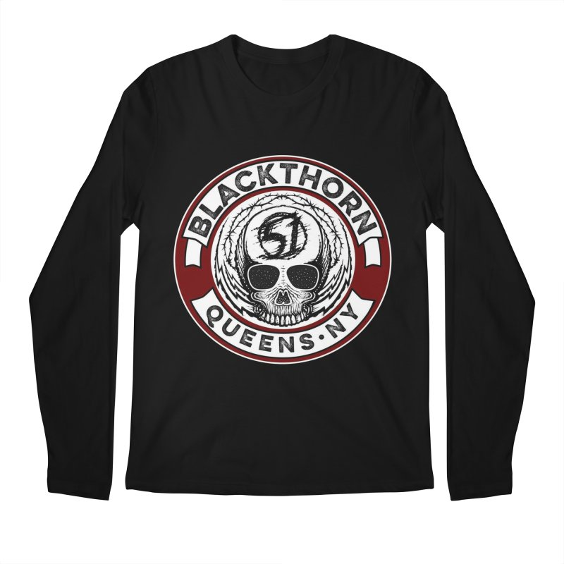 Blackthorn Barbwire Men's Longsleeve T-Shirt by blackthorn51 Apparel
