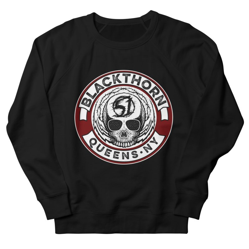 Blackthorn Barbwire Women's French Terry Sweatshirt by blackthorn51 Apparel