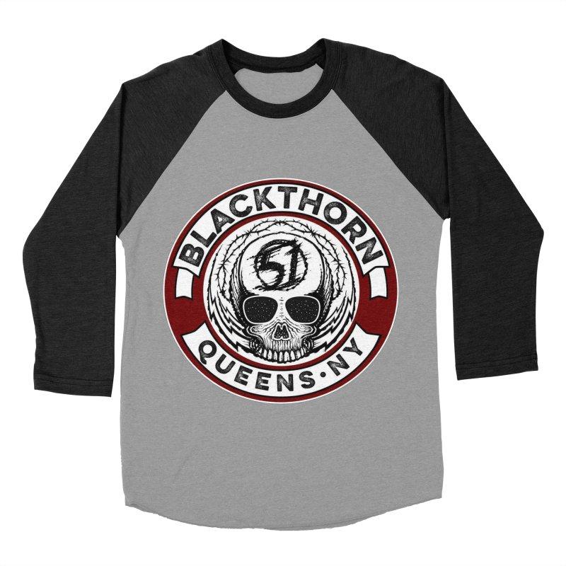 Blackthorn Barbwire Women's Baseball Triblend Longsleeve T-Shirt by blackthorn51 Apparel