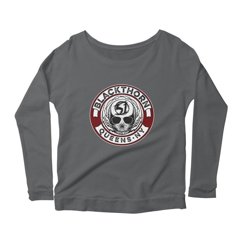 Blackthorn Barbwire Women's Scoop Neck Longsleeve T-Shirt by blackthorn51 Apparel