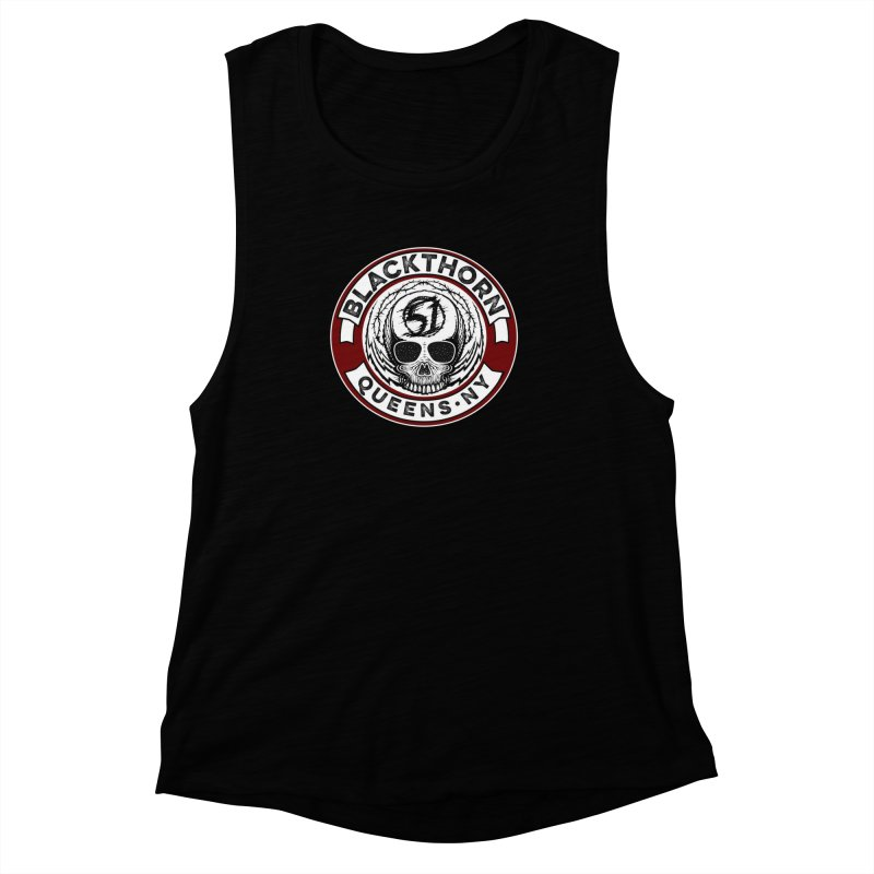 Blackthorn Barbwire Women's Muscle Tank by blackthorn51 Apparel