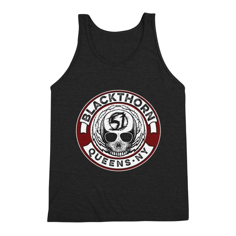 Blackthorn Barbwire Men's Triblend Tank by blackthorn51 Apparel