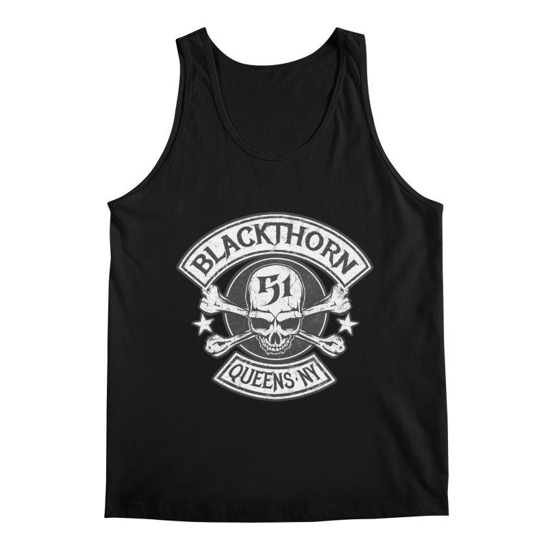 Blackthorn 51 Tee- Black/Grey Men's Regular Tank by blackthorn51 Apparel