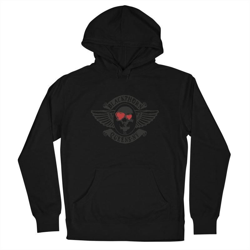 Heart Thorn Men's French Terry Pullover Hoody by blackthorn51 Apparel