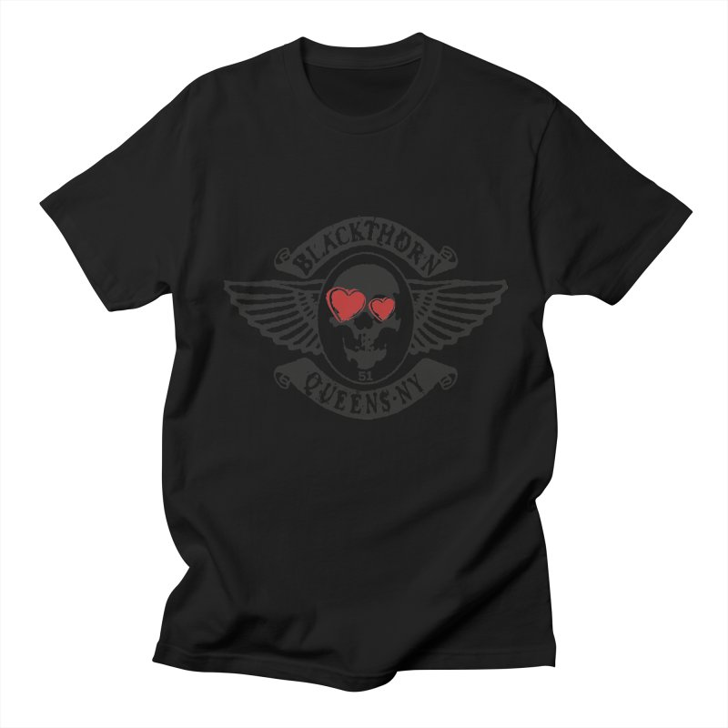 Heart Thorn Men's Regular T-Shirt by blackthorn51 Apparel
