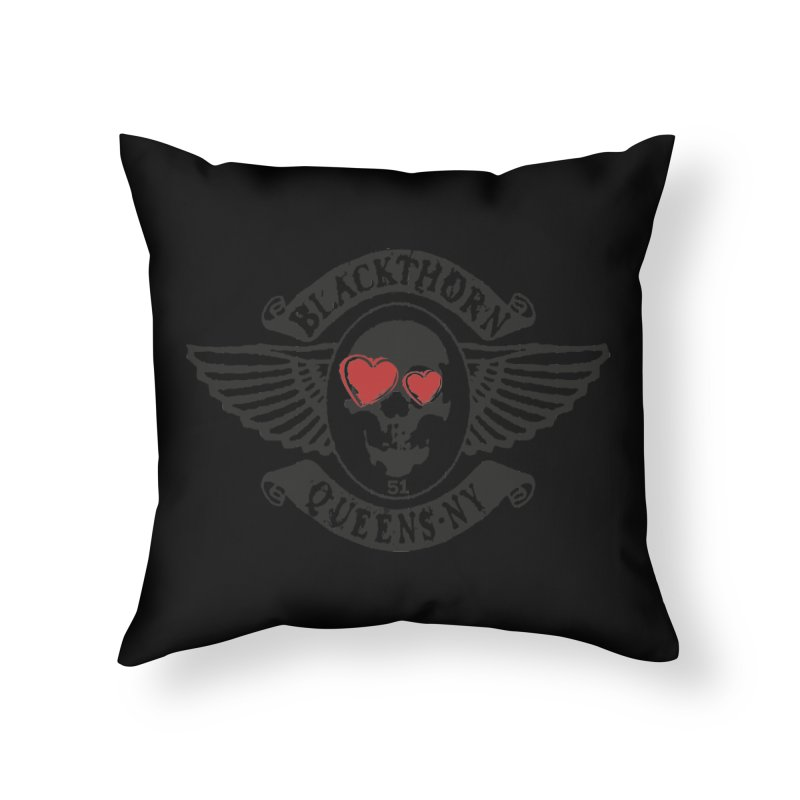 Heart Thorn Home Throw Pillow by blackthorn51 Apparel