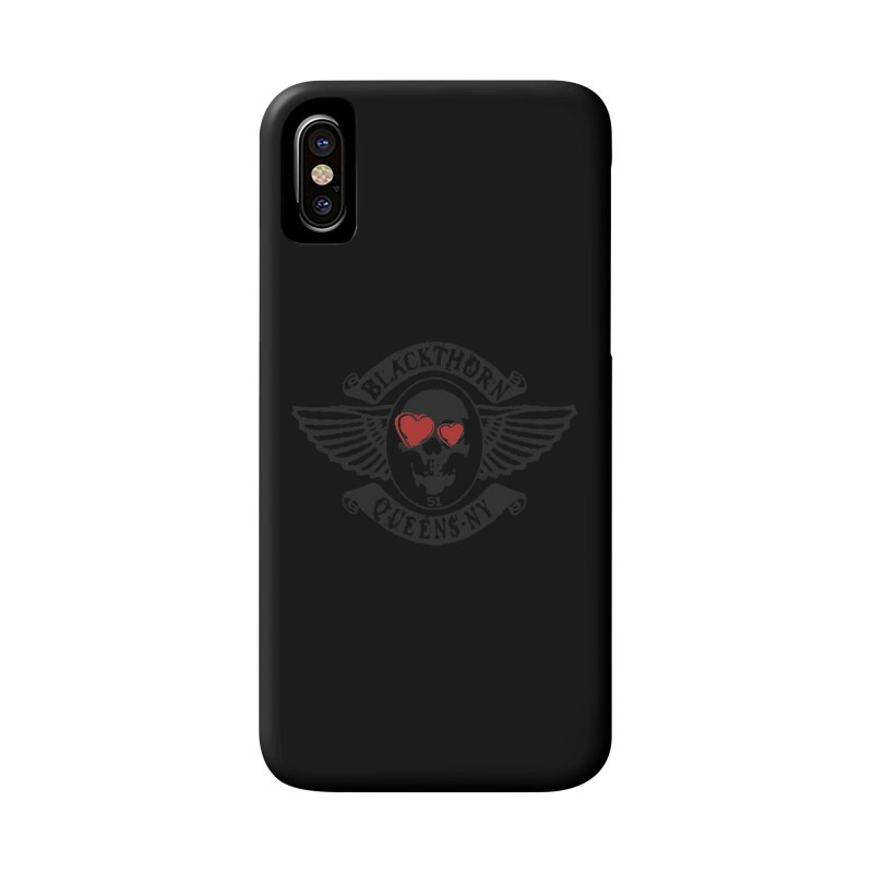 Heart Thorn Accessories Phone Case by blackthorn51 Apparel