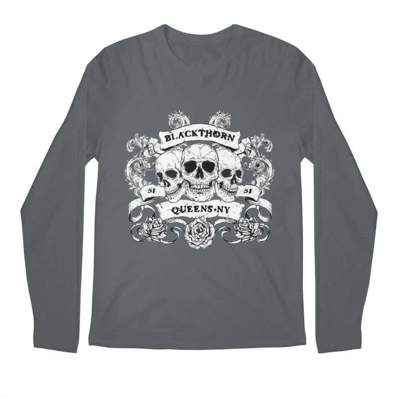 3 skulls Men's Longsleeve T-Shirt by blackthorn51 Apparel