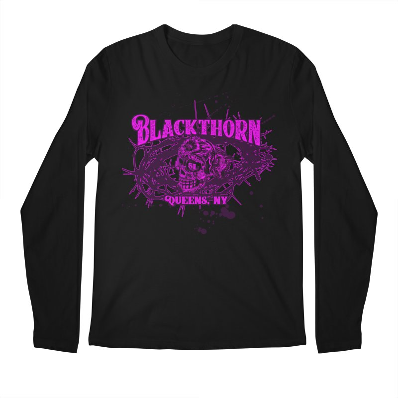 Blackthorn 51 Purple splatter Men's Regular Longsleeve T-Shirt by blackthorn51 Apparel
