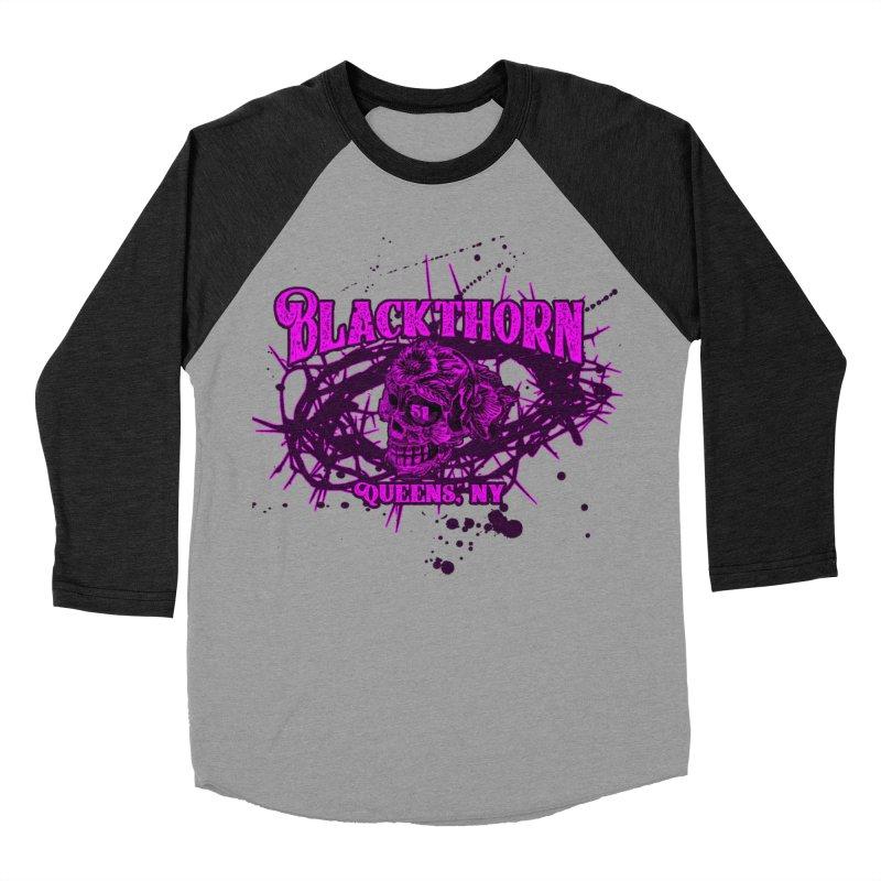 Blackthorn 51 Purple splatter Women's Baseball Triblend Longsleeve T-Shirt by blackthorn51 Apparel