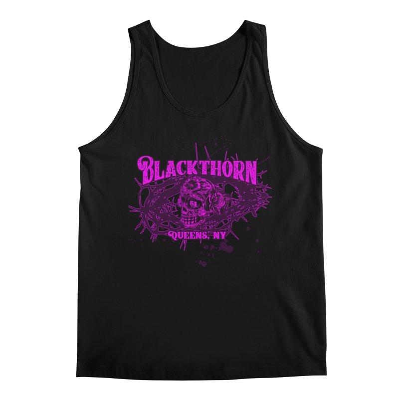 Blackthorn 51 Purple splatter Men's Regular Tank by blackthorn51 Apparel