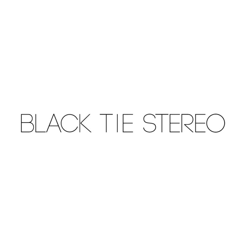Basic Black Logo Men's T-Shirt by blacktiestereo's Artist Shop