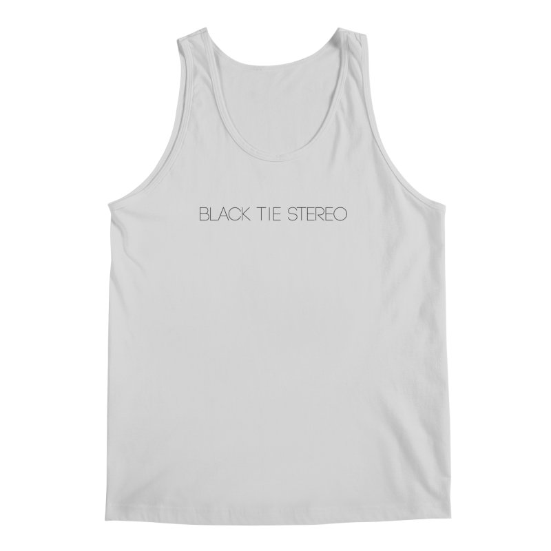 Basic Black Logo Men's Regular Tank by blacktiestereo's Artist Shop