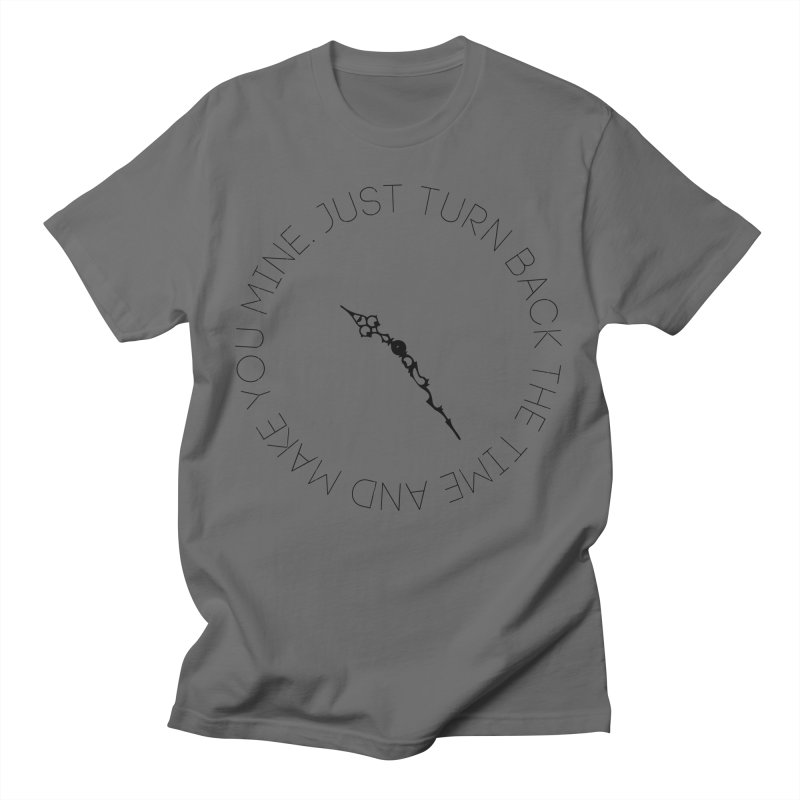 Just Turn Back The Time Men's T-Shirt by blacktiestereo's Artist Shop