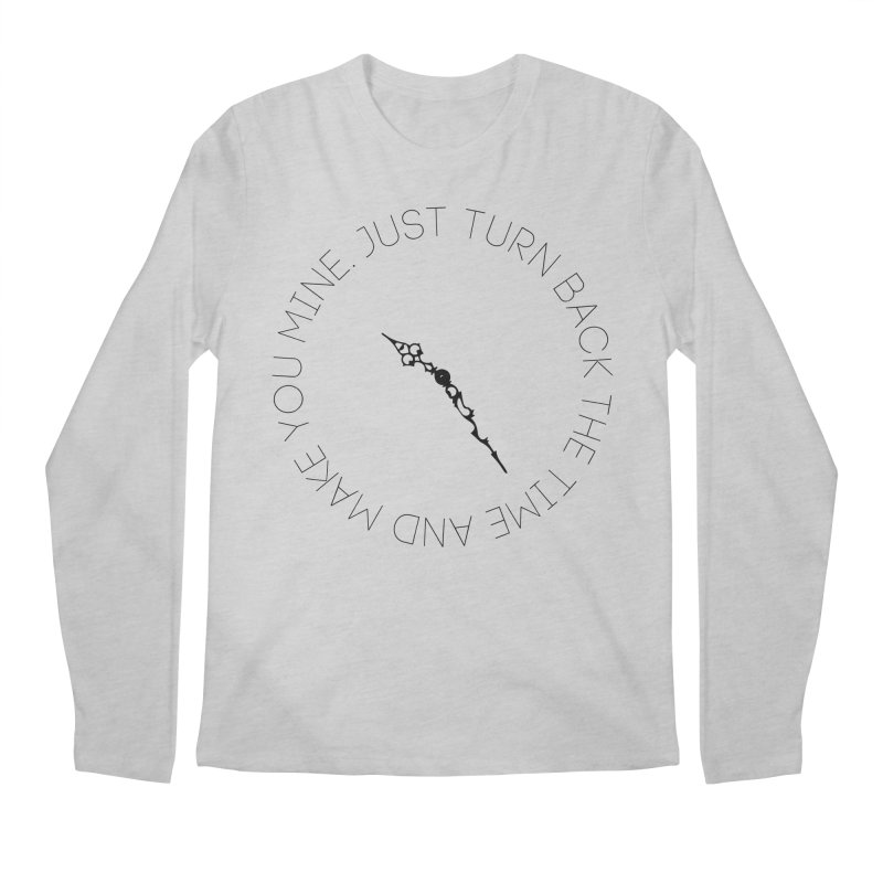 Just Turn Back The Time Men's Longsleeve T-Shirt by blacktiestereo's Artist Shop