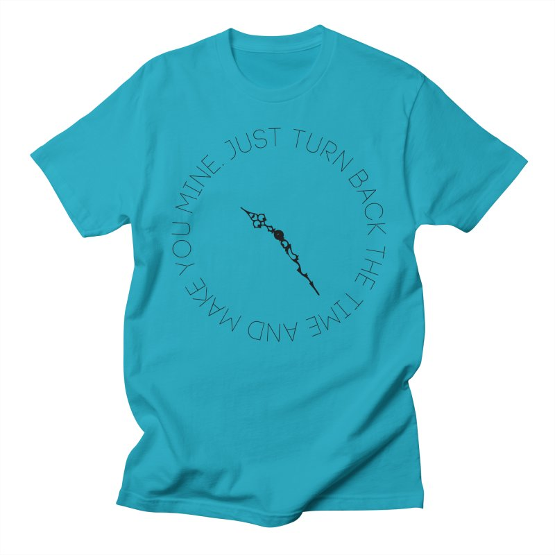 Just Turn Back The Time Men's Regular T-Shirt by blacktiestereo's Artist Shop