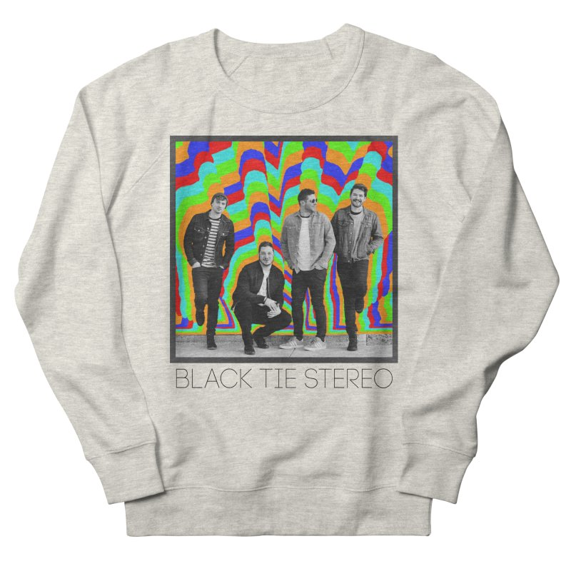 Color Burst Women's French Terry Sweatshirt by blacktiestereo's Artist Shop