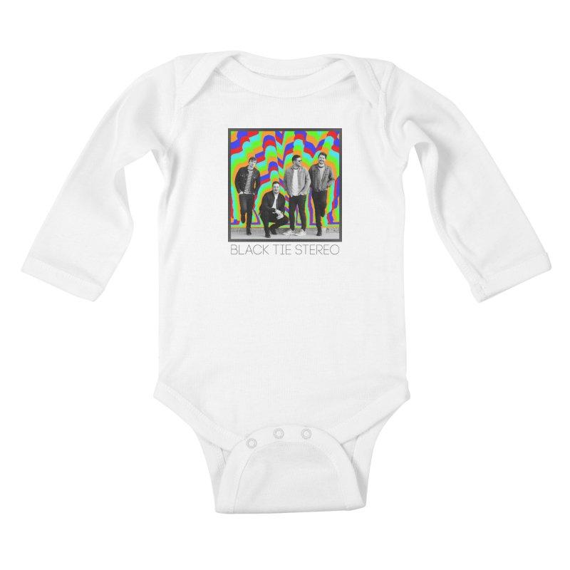 Color Burst Kids Baby Longsleeve Bodysuit by blacktiestereo's Artist Shop