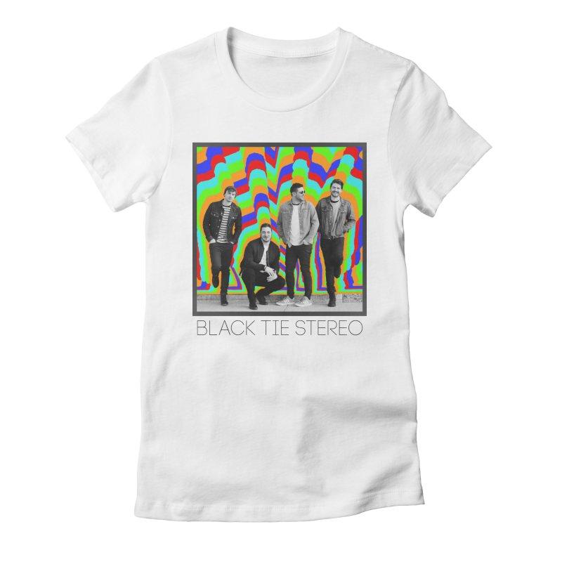 Color Burst Women's T-Shirt by blacktiestereo's Artist Shop