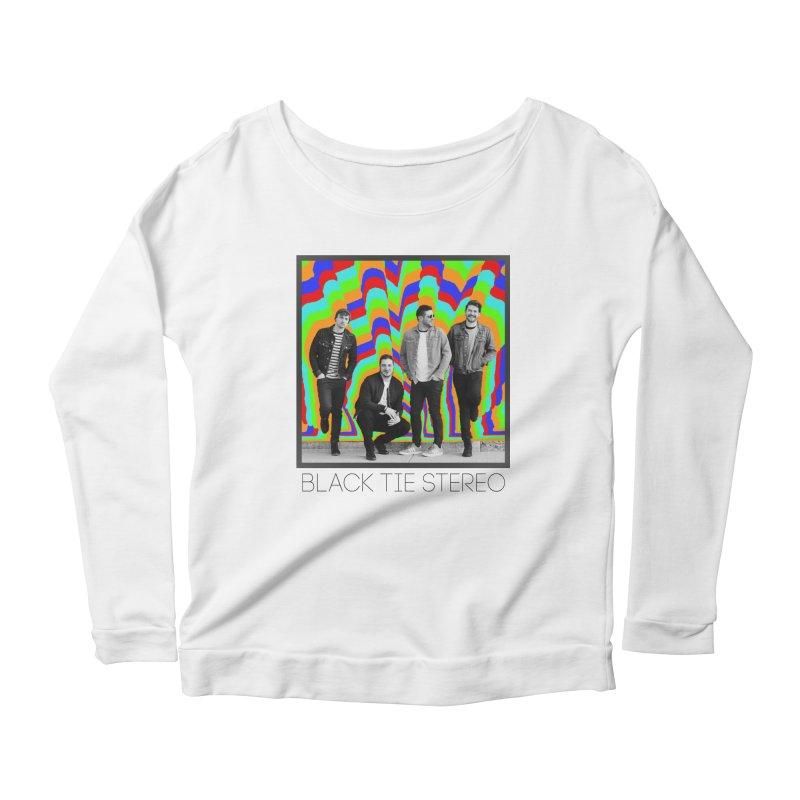 Color Burst Women's Scoop Neck Longsleeve T-Shirt by blacktiestereo's Artist Shop