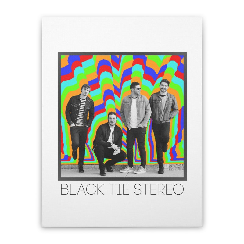 Color Burst Home Stretched Canvas by blacktiestereo's Artist Shop