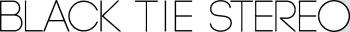 blacktiestereo's Artist Shop Logo