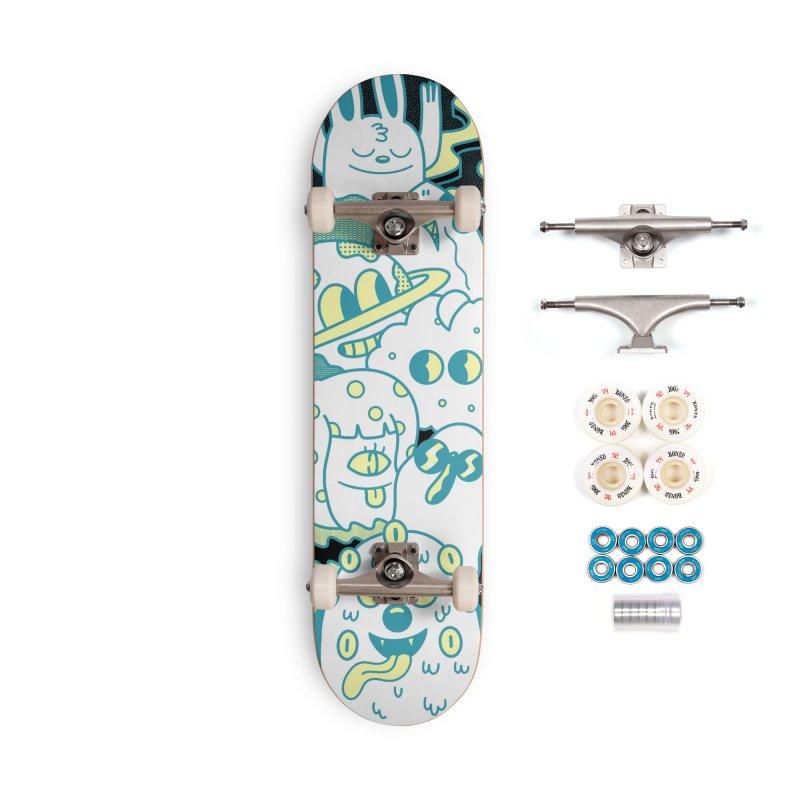 Cosmos Skateboard Accessories Skateboard by Blake Jones Threadless Shop