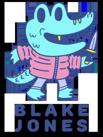 Blake Jones Threadless Shop Logo