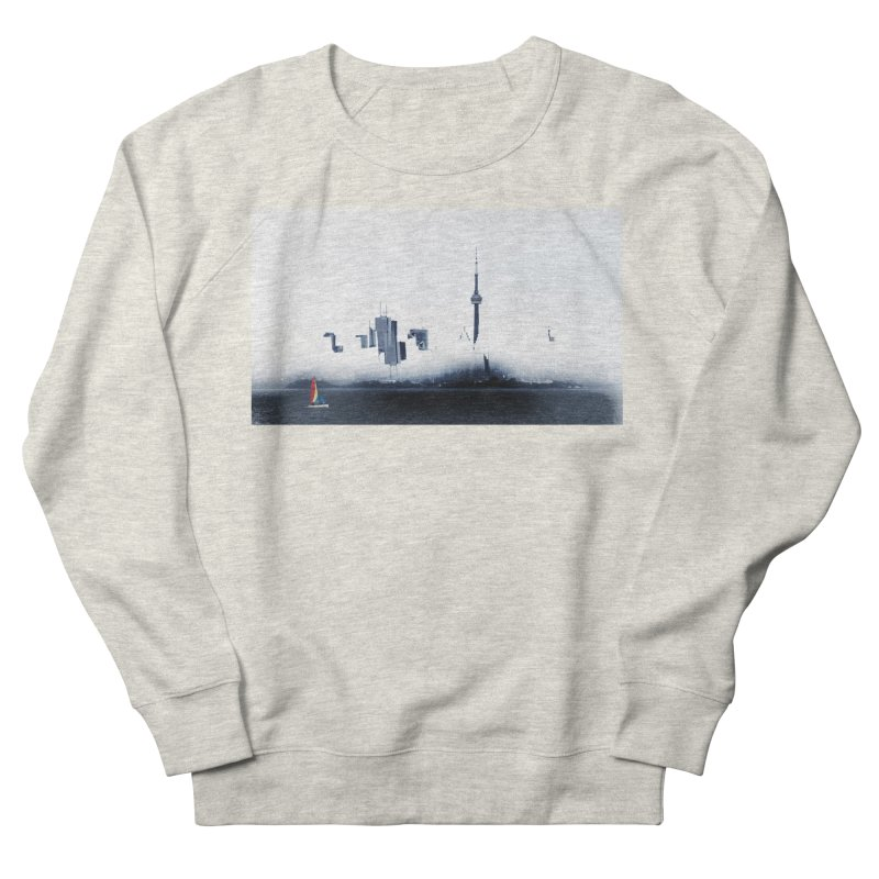 Misty Mirror Women's Sweatshirt by wearARTis blakereflected
