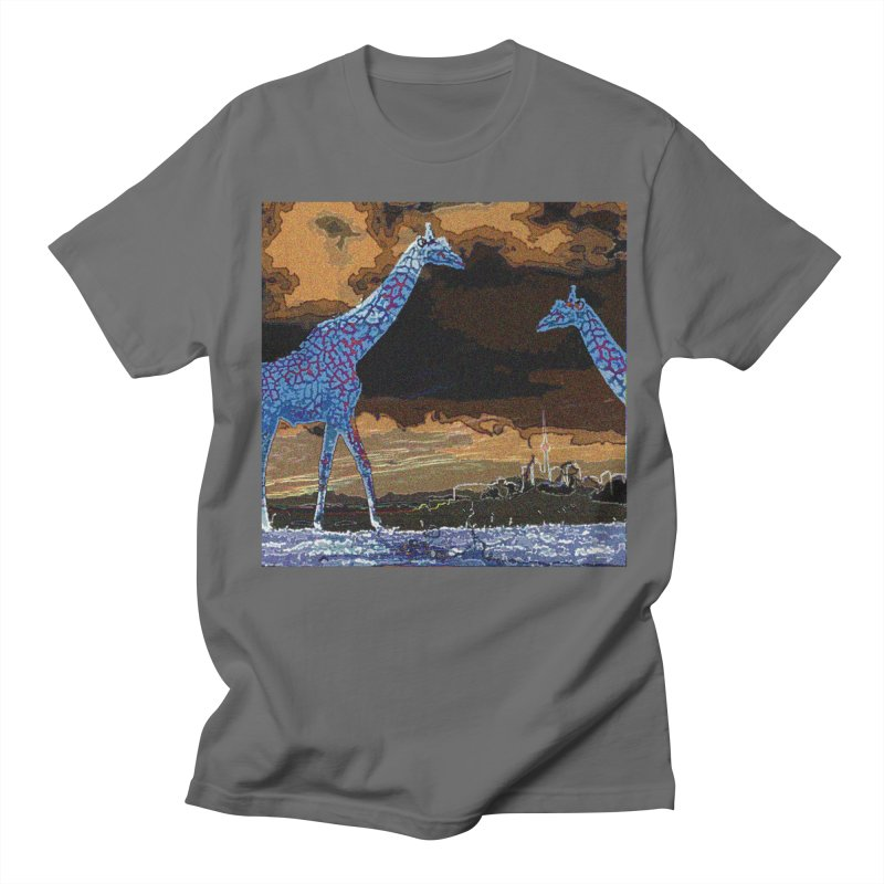 Life Towers Men's T-Shirt by wearARTis blakereflected